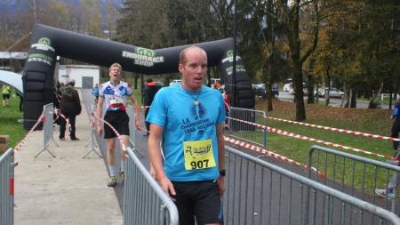 Les résultats du cross de l'INP Grenoble 2015