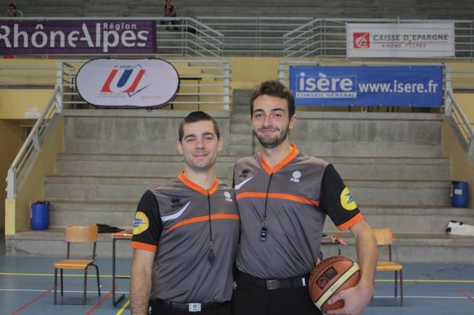 Pierre-Emmanuel Buyse : basketteur et arbitre