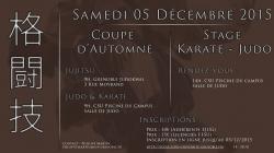 Judo : coupe d'automne ce samedi 5 décembre