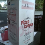 Carte Pizza Campus