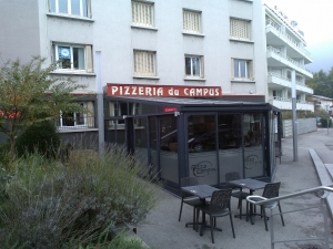 Pizza campus entrée