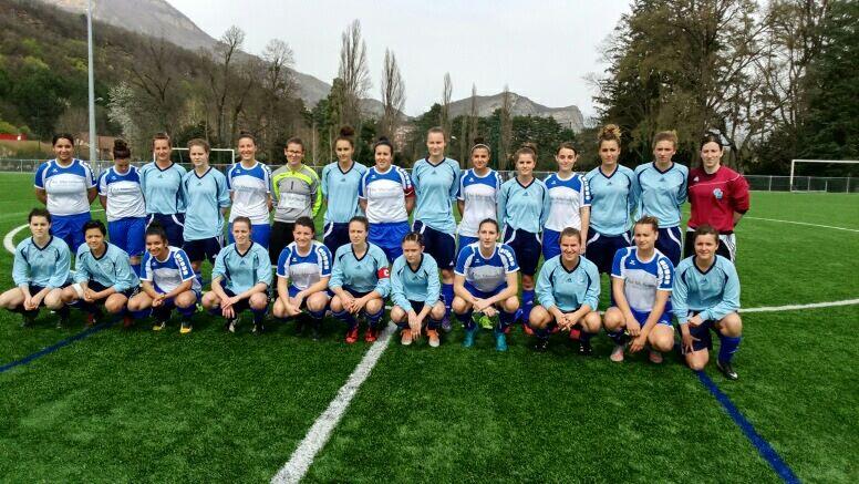 Foot Féminin : le CRSU Grenoble en quart de finale