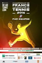 Tennis – championnat de France U par équipes