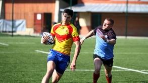 Rugby Elite (1/4 de finale) : les photos du match ASU Grenoble – Staps Orsay
