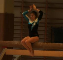 Gymnastique Artistique : Sophie Dumalin championne régionale