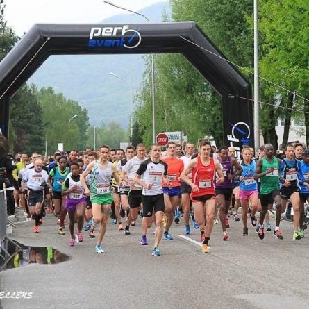 Le championnat de France Universitaire des 10km à Moirans