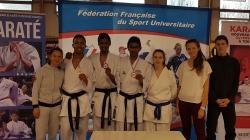 CFA Karaté – Quatre médailles pour les karatékas grenoblois à Pont-à-Mousson.