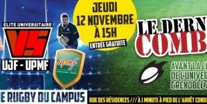Rugby – UPMF vs UJF : le dernier combat
