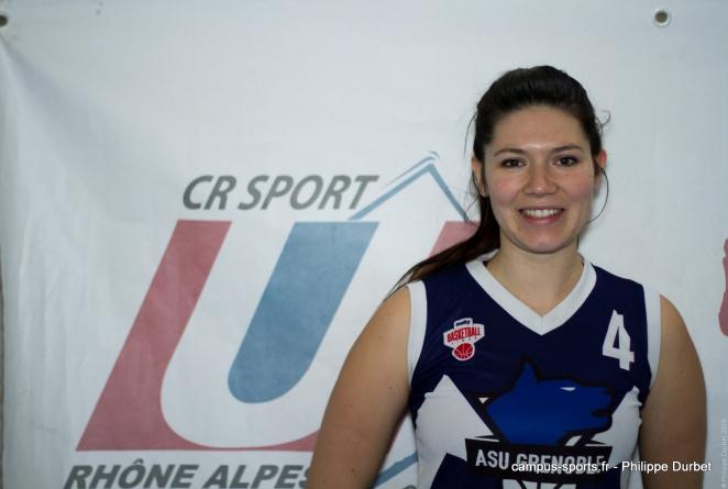Les Rendez-Vous du Campus : Zoé Roulon (basket-ball / Melty)
