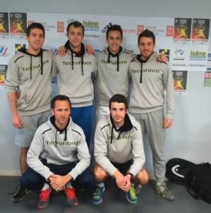 Championnat de France Universitaire de tennis par équipes (CFU Tennis 2016)