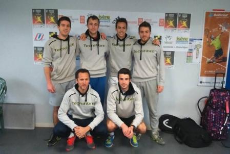Championnat de France Universitaire de tennis par équipes (CFU Tennis 2016)