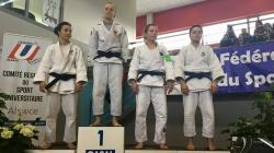 Trois médailles pour les Grenoblois aux CFU de Judo