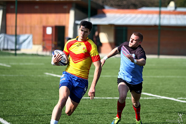 Rugby Elite (1/4 de finale) : les photos du match ASU Grenoble – Staps Orsay