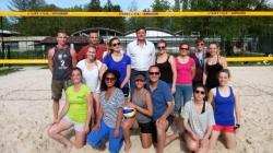 Résultats des championnats académiques de beach-volley
