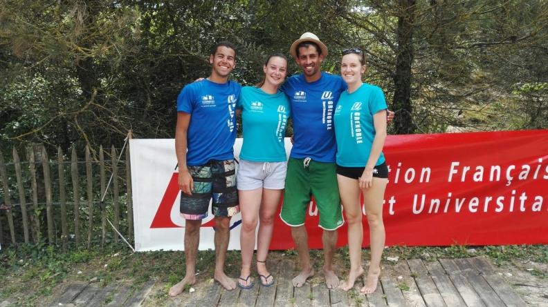 CFU Beach-Volley – Les Grenoblois(e)s au pied du podium