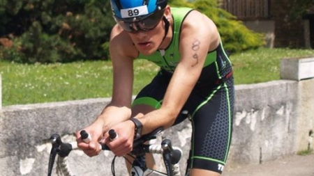 Paul Para-Meyerie  (ASU  Grenoble UJF) 9e du CFU de triathlon