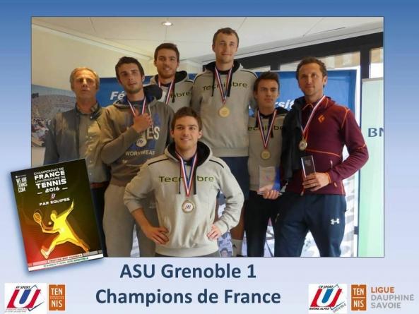 Les tennismen en lice aux Jeux Européens Universitaires